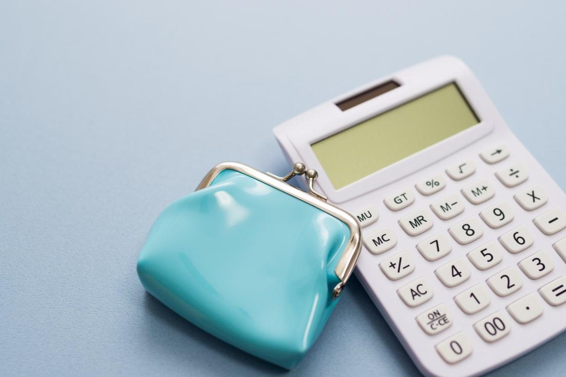 計算機と財布